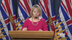 'We have not yet reached our peak': B.C.'s top doctor on critical second incubation period amid COVID-19 outbreak