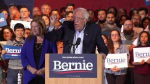 "Nevada caucus: Sanders says 'We have now won"" after networks predict victory"
