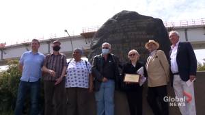Efforts to preserve Montreal's Irish Black Rock monument gains recognition (02:00)