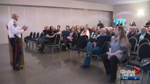 Edmonton police chief speaks to Mill Woods residents about crime concerns