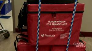 Nova Scotia becomes first province to have presumed consent organ donation (02:05)