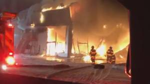 Edson car dealership destroyed by fire overnight