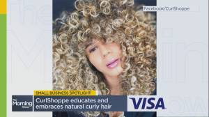 Local business 'CurlShoppe' talks providing quality, affordable haircare and staying afloat amid the pandemic (05:54)
