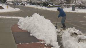 Okanagan residents required to shovel snow