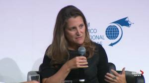 Freeland says 'hollowed out' middle class leading to increased polarization