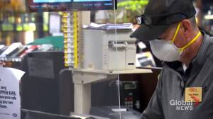Nova Scotians and New Brunswick split on use of  mandatory face masks