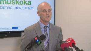 Coronavirus outbreak: Officials at Barrie hospital discuss Ontario's first virus-related death