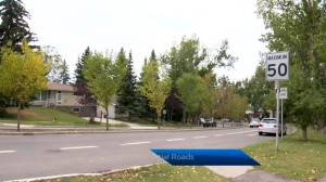Reduction in residential speed limits on agenda at Calgary city council meeting Wednesday