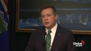 Jason Kenney says throne speech spectacularly missed the mark (01:55)