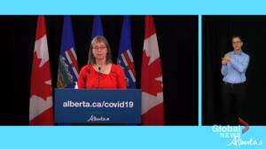 Hinshaw admits Alberta's move to treat COVID-19 like endemic was 'too early' (02:06)