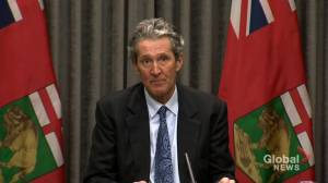Coronavirus: Manitoba premier to enact 2-week isolation orders for travel in Canada (01:43)