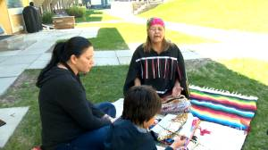 Calgarians offer Indigenous prayers for healing after Kamloops mass grave found (01:48)