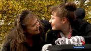 Play video: Calgary mom angry after daughter with disabilities denied entry into store