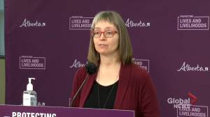 Alberta identifies 456 new COVID-19 cases, 110 variants of concern on Monday (01:10)