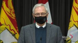 Fredericton, Moncton and Saint John to enter red COVID-19 recovery level (01:47)