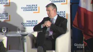 N.S. premier indicated reductions in corporate and small business taxes