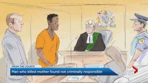 Toronto man who killed mother in 2019 found not criminally responsible (01:46)