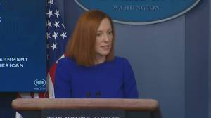 White House says Biden confident Senate can multitask with impeachment, won't tell them to drop trial (01:10)