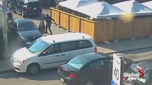 Hamilton police release surveillance video of shootout on Barton Street (00:51)