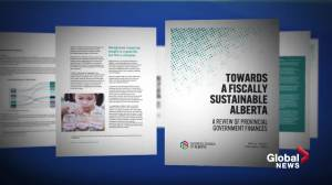 Business Council of Alberta recommends provincial sales tax, carbon tax to counter fiscal deterioration (01:57)