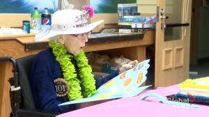 Saint John woman celebrates 101 birthday (01:27)