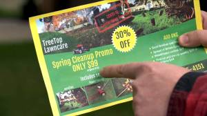 BBB warns of growing complaints about lawn care companies servicing Calgary, southern Alberta (02:34)