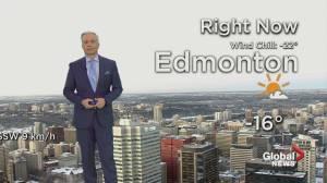 Edmonton early morning weather forecast: Tuesday, February 4, 2020