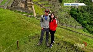 Saskatoon couple stuck in Peru because of pandemic