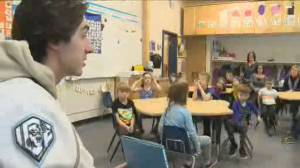 Winnipeg ICE share important message with local students
