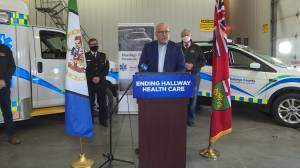 Paramedics in Hastings-Quinte as well as Leeds-Grenville getting provincial cash to take on a more pro-active role in community (02:04)