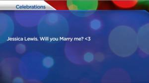 Marriage proposal happens on Global News Morning