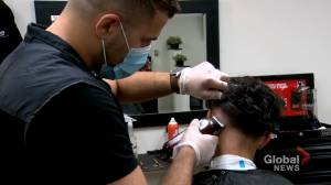 Calgary Cares: Barbershops offer front-line workers free haircuts