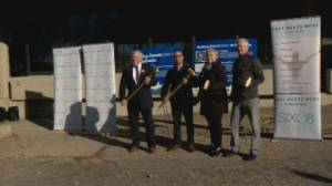 Lethbridge 'gets the ball rolling' as first TRIP project begins construction