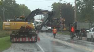 Minor train derailment cleared in Amherstview (00:52)