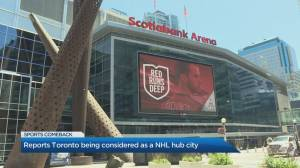 Toronto considered as NHL hub city