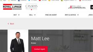 Real estate broker Matt Lee chats with GNM
