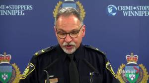 Winnipeg Police say missing 2-year-old found safe following Amber Alert (00:36)