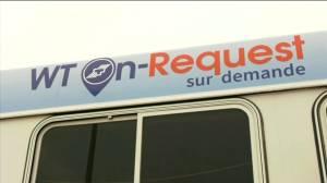 Winnipeg Transit launches On Request mobile app pilot project (00:48)