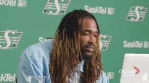 Roughriders DL Tim Williams explains how he is motivated by a costly mistake (01:48)