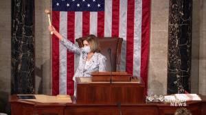 Nancy Pelosi re-elected as U.S. House speaker (03:05)