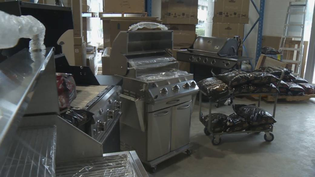 Click to play video 'Winter patio season prompts run on outdoor furniture'
