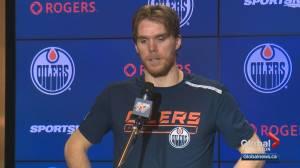 Edmonton Oilers speak out after NBA suspends season over coronavirus concerns