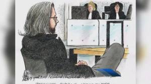 Aydin Coban appears in New Westminster Supreme Court (00:35)