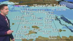 Cool down coming: Feb. 25 Saskatchewan weather outlook (02:40)