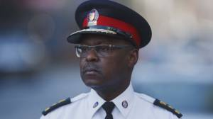 Toronto police chief calls it a career