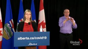 Coronavirus: Alberta identifies 678 new cases of COVID-19, and 16 deaths Thursday (01:29)