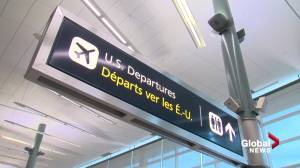Edmonton International Airport remains cut off from global travel (01:38)