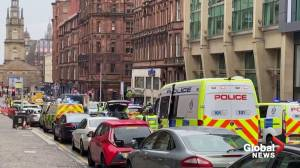 Hotel guest describes horrifying scene of Glasgow stabbings