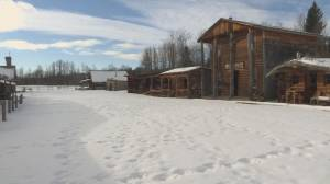 Authentic western frontier town in central Alberta for sale (02:16)