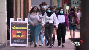 Masks still required in some circumstances once COVID-19 restrictions are lifted in Alberta (02:06)